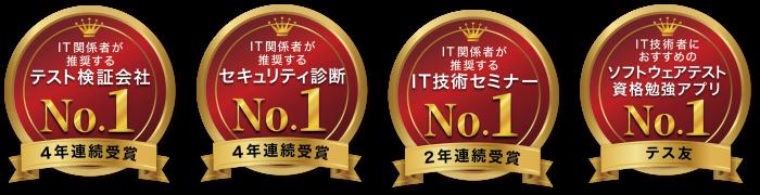 No1キャッチ王冠ロゴ